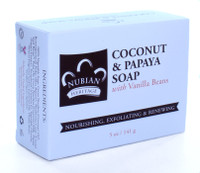Nubian Coconut Soap 5 oz