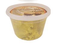 Okay Yellow Chuncky Shea Butter Jar 10oz/296g