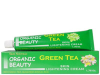 Organic Green Tea Skin Lightening Tube Cream 1.76 oz / 50 g