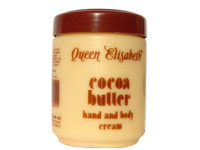 Queen Elisabeth Cocoa Butter Jar Cream 16.9 oz / 500 ml