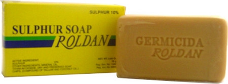 Roldan Sulphur (Yellow) Soap 2 63 oz / 75 g