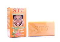 ST7 Vita Carrot Exfoliating Toning Soap Organic Beauty with Vitaclaire & Kernel Peach Powder 7.0oz
