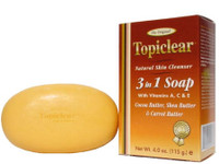 Topiclear Gold 3 in 1 Soap 4 oz / 115 g