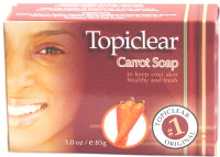 Topiclear Carrot Soap 3 oz / 85 g
