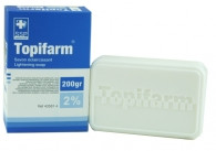 HT26 Topifarm Savon eclaircissant concentre (Concentrated Lightening Soap / Blue) 7 oz / 200 gr
