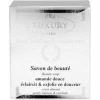 White Luxury  Almond Beauty Soap 7 oz /200g