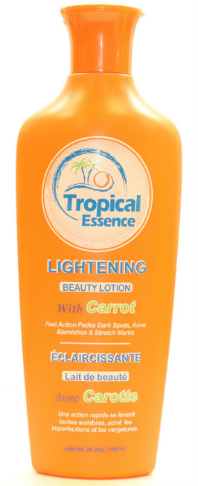 Tropical Essence Beauty Lotion Carrot 16 8 Oz 500ml