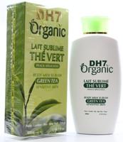 DH7 Organic Green Tea Body Milk 14.1 oz/400ml