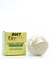 DH7 Organic Exfoliating Green Tea Soap 7oz / 200g