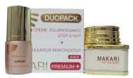 Makari PREMIUM+ Duo Pack (Whitening Cream 3.38oz/ & Serum 1.01oz)