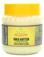 Nature Fresh Shea Butter with Vanila (Yellow cap) 8 oz / 240 g