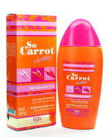 So Carrot (So white, Fair and White) Brightening Body Lotion 17.6 oz / 500 ml