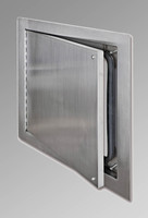 "12"" x 12"" Airtight / Watertight Access Door - Stainless Steel - Acudor"