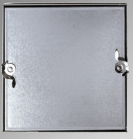 "18"" x 18"" Double Cam Removeable Duct Access Door - Acudor"