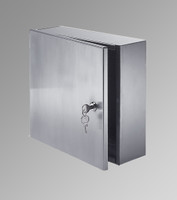 """12"""" x 12"""" x 8"""" Surface Mounted Valve Box - Acudor"""
