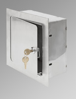 "12"" x 12"" x 4"" Recessed Valve Box - Acudor"