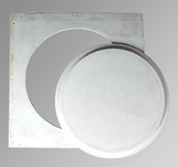"24"" Circular Gypsum Access Panel - Windlock"