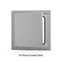"12"" x 12"" Airtight / Watertight Access Door - Prime Coated - Acudor"