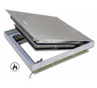 "24"" x 24"" Fire Rated Floor Hatch - Acudor"