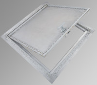 "24"" x 24"" Recessed Aluminum Floor Hatch - Cendrex"
