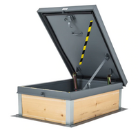 "30"" x 96"" Roof Access Hatch - Elmdor"