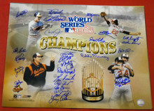 1983 BALTIMORE ORIOLES AUTOGRAPHED 16X20 COLLAGE PHOTO RIPKEN PALMER MURRAY MAB