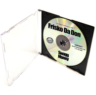 CD Duplication Full Black Print
