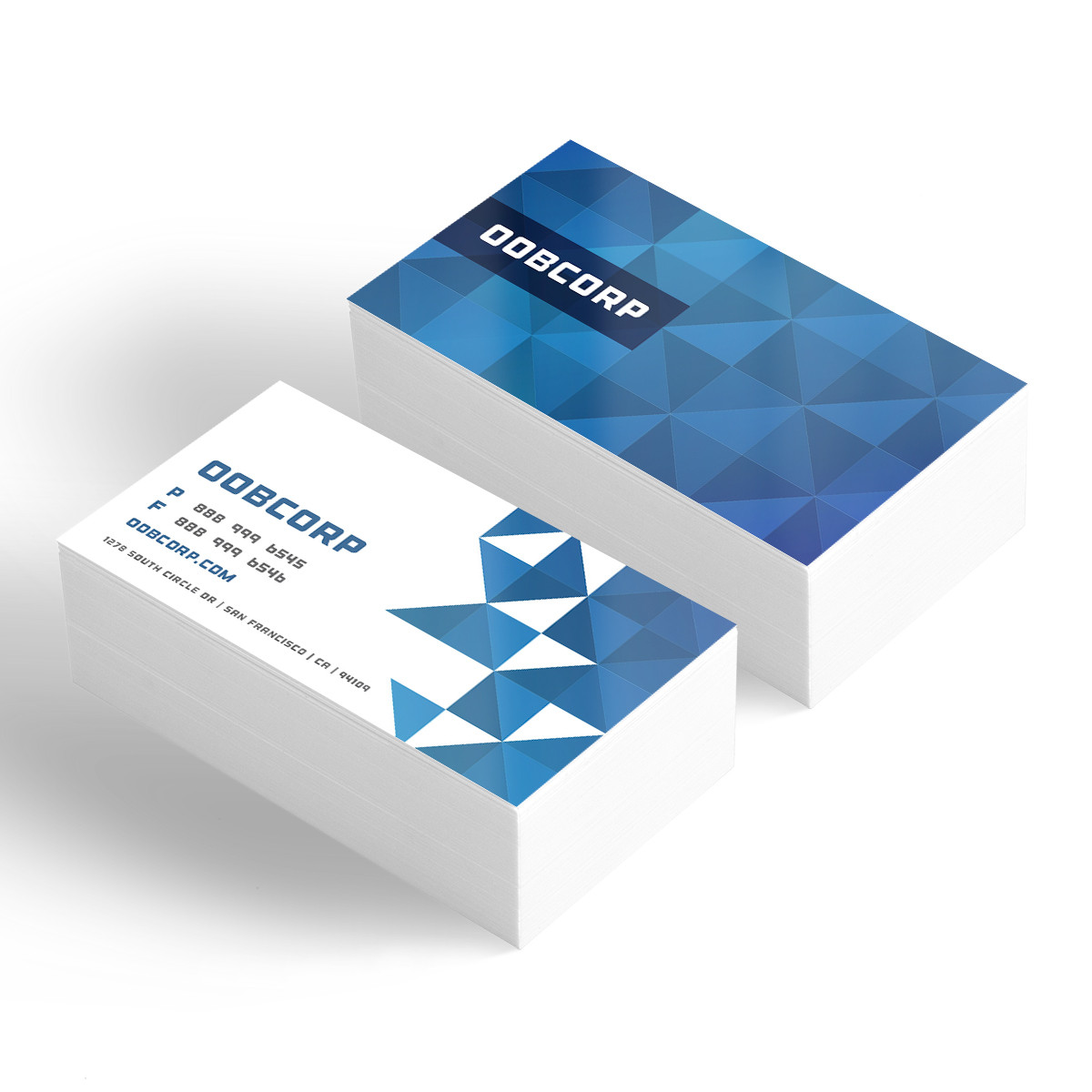 glossy business cards next day
