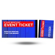 Event Tickets: Perforated + Numbered