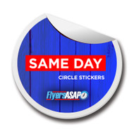 Same Day Circle Stickers