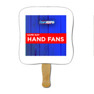 Same Day Rush Hand Fan