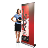 Full Color Banner With Supreme Banner Stand