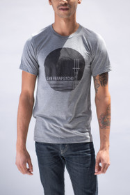 Grey Sutro Tower Tee