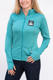 Teal Athletic zip up