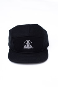 Black Camper Grey Logo Hat