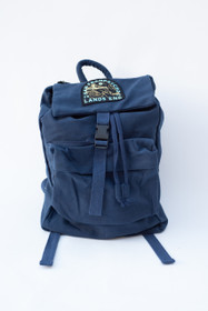 Land's End Navy Backpack