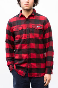 Checkered Flannel w/ Katakana Logo