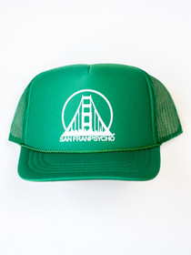 Youth Green Trucker Hat