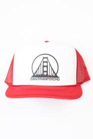 Red Youth Trucker Hat