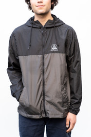 Black & Grey Windbreaker