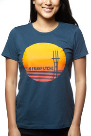 Midnight Sunset Sutro Tower Tee
