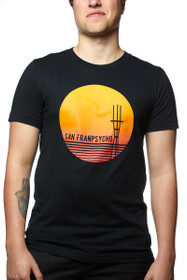 Black Sunset Sutro Tee