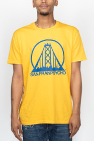 Yellow & Blue Bay Bridge SFP Logo Tee