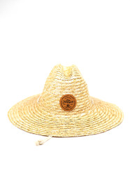 Lifeguard Hat w/ Brown Leather SFP Patch