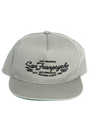 """The Original"" SFP 5-Panel Grey Snapback Hat"