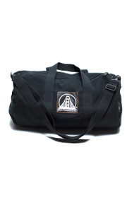 Black Logo Duffle Bag