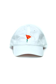 White Poppy Dad Hat