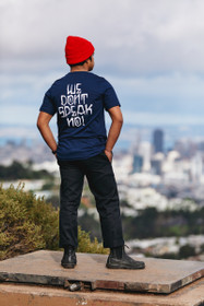 We Don't Speak No Navy Tee