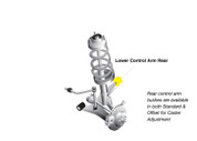 Whiteline Front Control arm - lower inner rear bushing  W53287