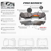 Bremtec Pro Series Rear Brake  Focus RS mk2